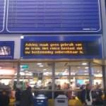 Informatievoorziening bij treinreizen: hoofdpijndossier met medicijnen