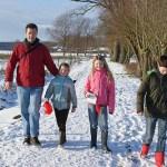 Kerstwandeling over landgoed De Horte