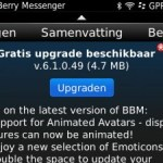 BlackBerry updates januari 2012