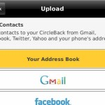 Social address book: CircleBack