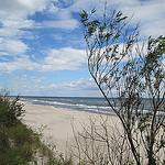 In velden en wegen, bos en op stranden van Wolin belanden
