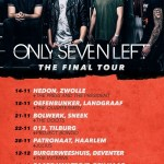 Concertverslag Only Seven Left in Hedon Zwolle