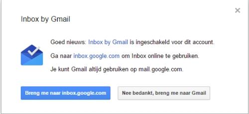 inbox of gmail