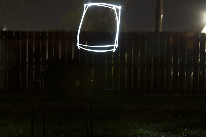 ISO - 200 f/7 25 seconds Using a small flashlight will allow to to paint shapes in the air.