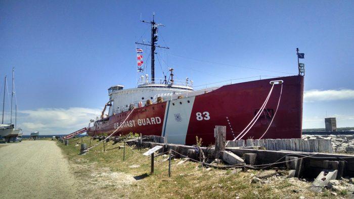 ....the Mighty Original Mackinaw Icebreaker!