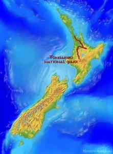 map tongariro 221x300 Новая Зеландия, часть 2: заповедник Тонгариро (Мордор, Ородруин, Эмин Муил)