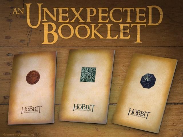 UnexpectedBookletTrilogy 1024x768 Хоббит: проект Нежданный буклет