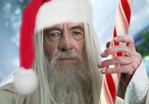 Christmas Gandalf 300x209 С наступающим Новым Годом!