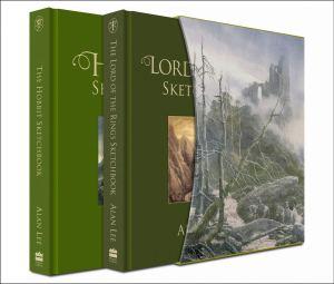 HobbitSketchbookDeluxe 300x255 Делюкс издание двух Скетчбуков Алана Ли!
