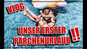 Henning Merten und Denise Kappés erster Pärchenurlaub