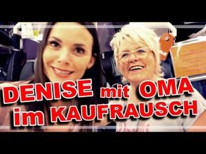 Denise & OMA im Kaufrausch
