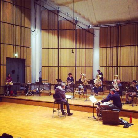 Répétitions Grand orchestre - Salle Varèse