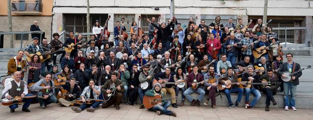 Barcelona Bluegrass Camp, March 2017