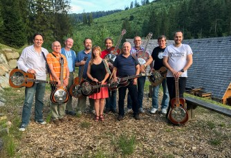 Dobro Class at Bluegrass and Wellness Workshop, Oščadnica, Slovakia 2017
