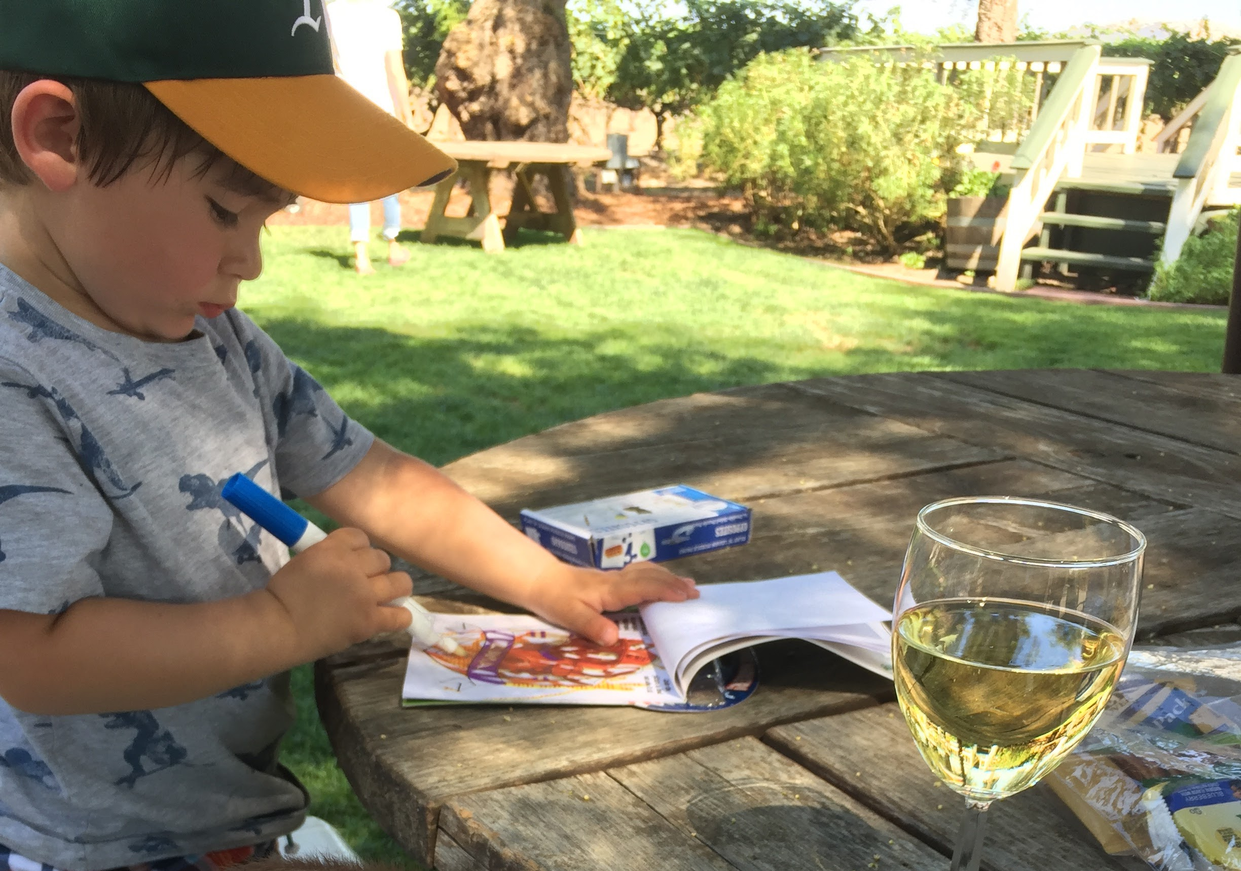 Wineries with kids