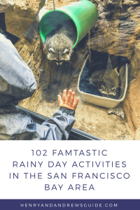 102 Famtastic Rainy Day Activities in San Francisco Bay Area with Kids | Henry and Andrew's Guide | San Francisco with Kids