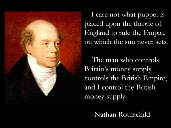 The Jewish Conspiracy Is British Imperialism