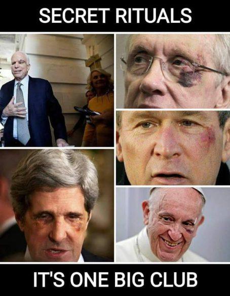 Image result for back left eye ritual
