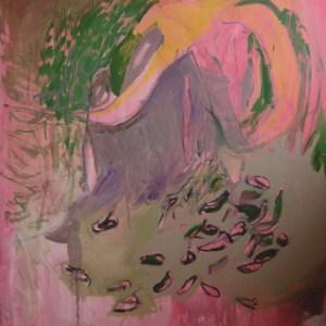 CatacombOil on canvas. 160cm x 170cm.