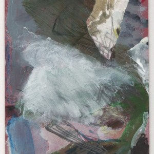 Here an Now. Oil, watercolour, ink, graphite, on paper, card.