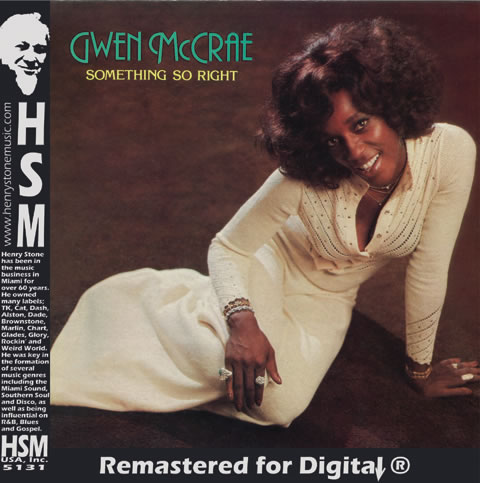 Gwen McCrae Something So Right CD Insert