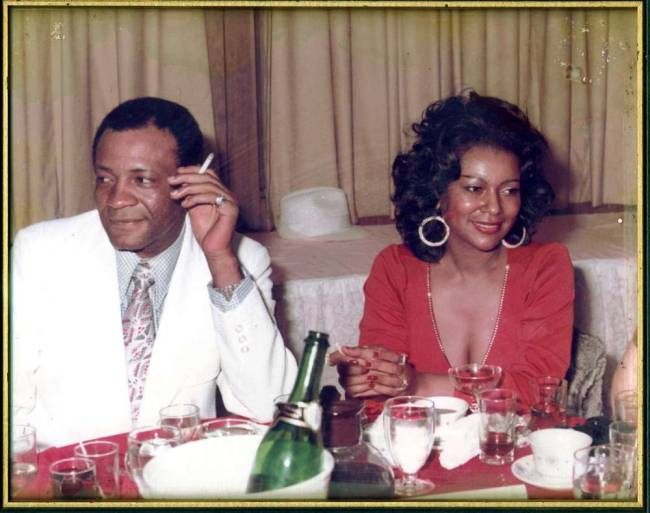 Joe and Sylvia Robinson