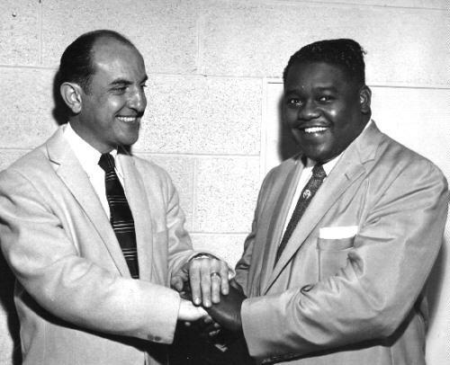 Lew Chud and Fats Domino