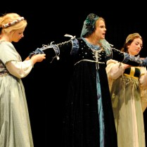 Kathryn Howard and ladies in waiting - Henry VIII The Musical