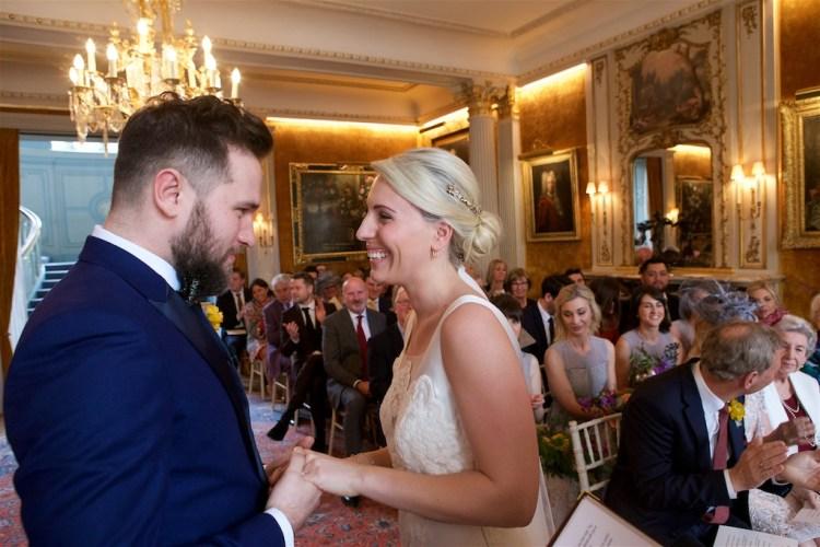 Savile Club Wedding Photography - Emma & Jack 15