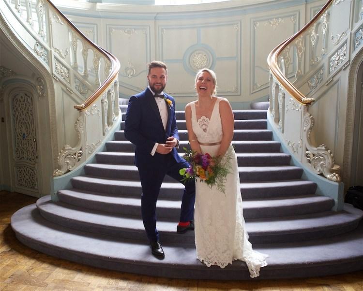 Savile Club Wedding Photography - Emma & Jack 21