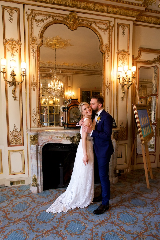 Savile Club Wedding Photography - Emma & Jack 25