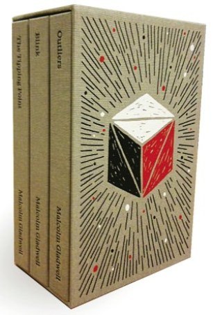 Malcolm Gladwell Collected box set design