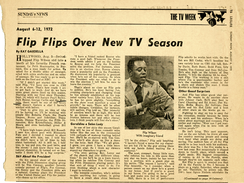 1970 Comedy S Television