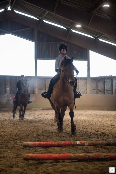Teaching in the career of the Henson Equestrian Center L'Étrier