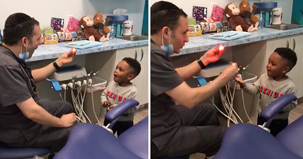 New Jersey Jewish Dentist Wows Kid With Magic Tricks Makes Netizens Wish He Accepts Adult Patients