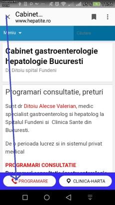Cabinet medical in Clinica Sante Bucuresti