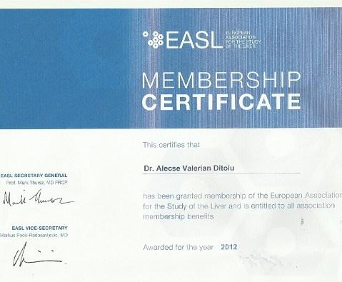 Diplome membru EASL mic