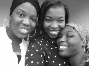 Me and my babies..uhm, my sisters