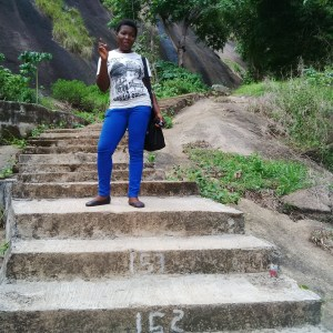 The 660steps to the top of the hill..