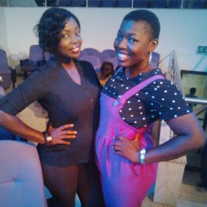 I and Queenie at the album launch last year!