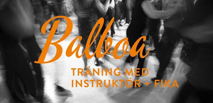Balboa – öppen träning med instruktör