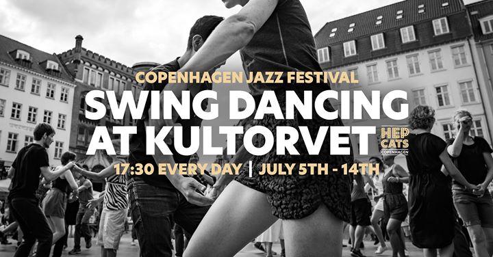 Swing Dancing at Kultorvet – Free classes and social dance