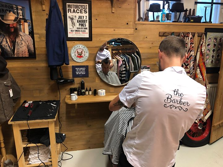The Barber at HepCat Store