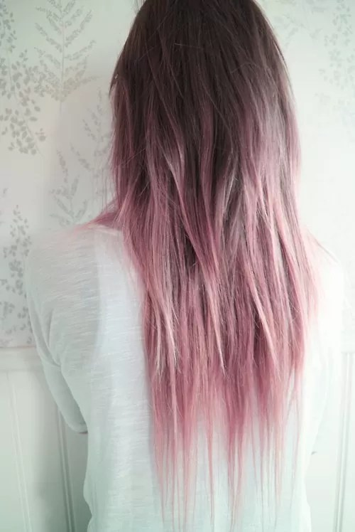 Electric Ombre Hair