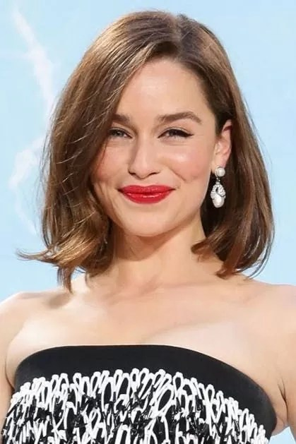 Image result for Emilia Clarke bob