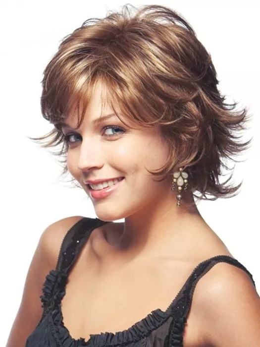 Image result for Layered and Outward wispy Bob: