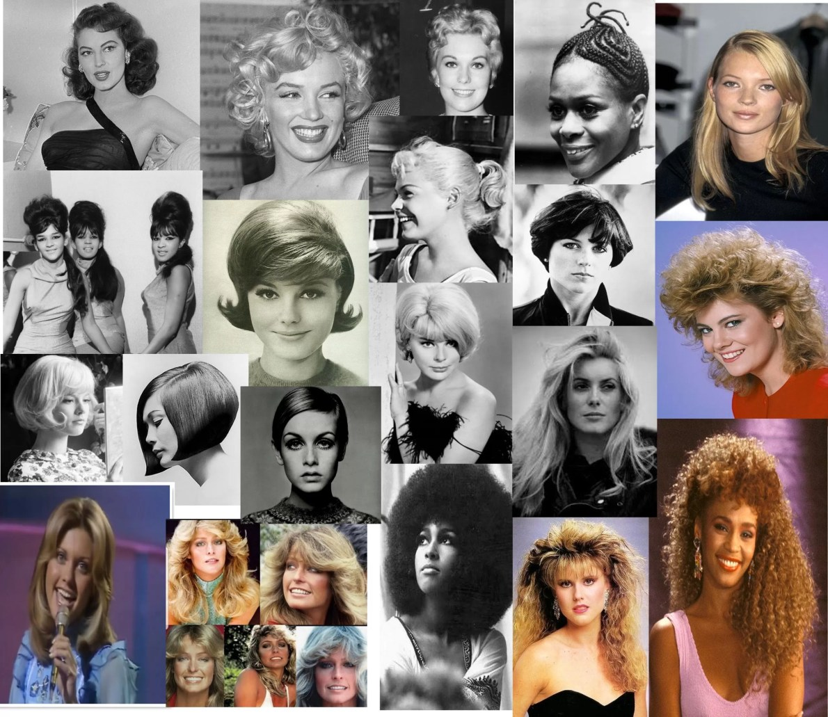 best hairstyles in history