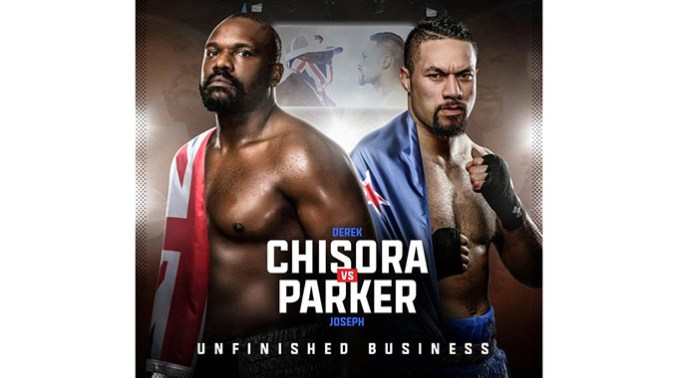 JUST IN: Chisora agrees to fight New Zealander Parker