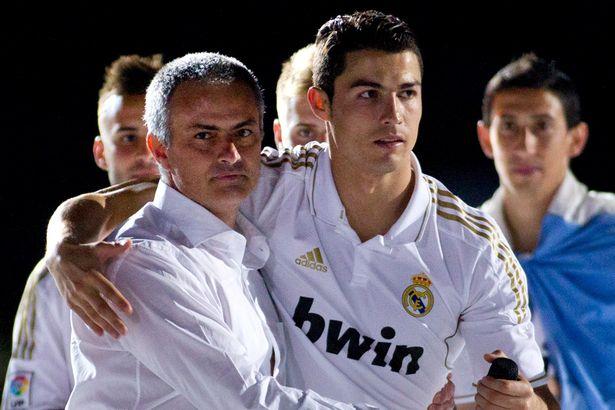 Jose Mourinho and Cristiano Ronaldo-1743228