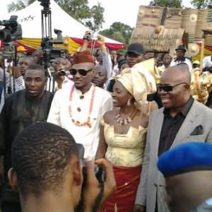 Tuface and Annie Wed